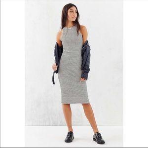Silence+noise backless striped dress